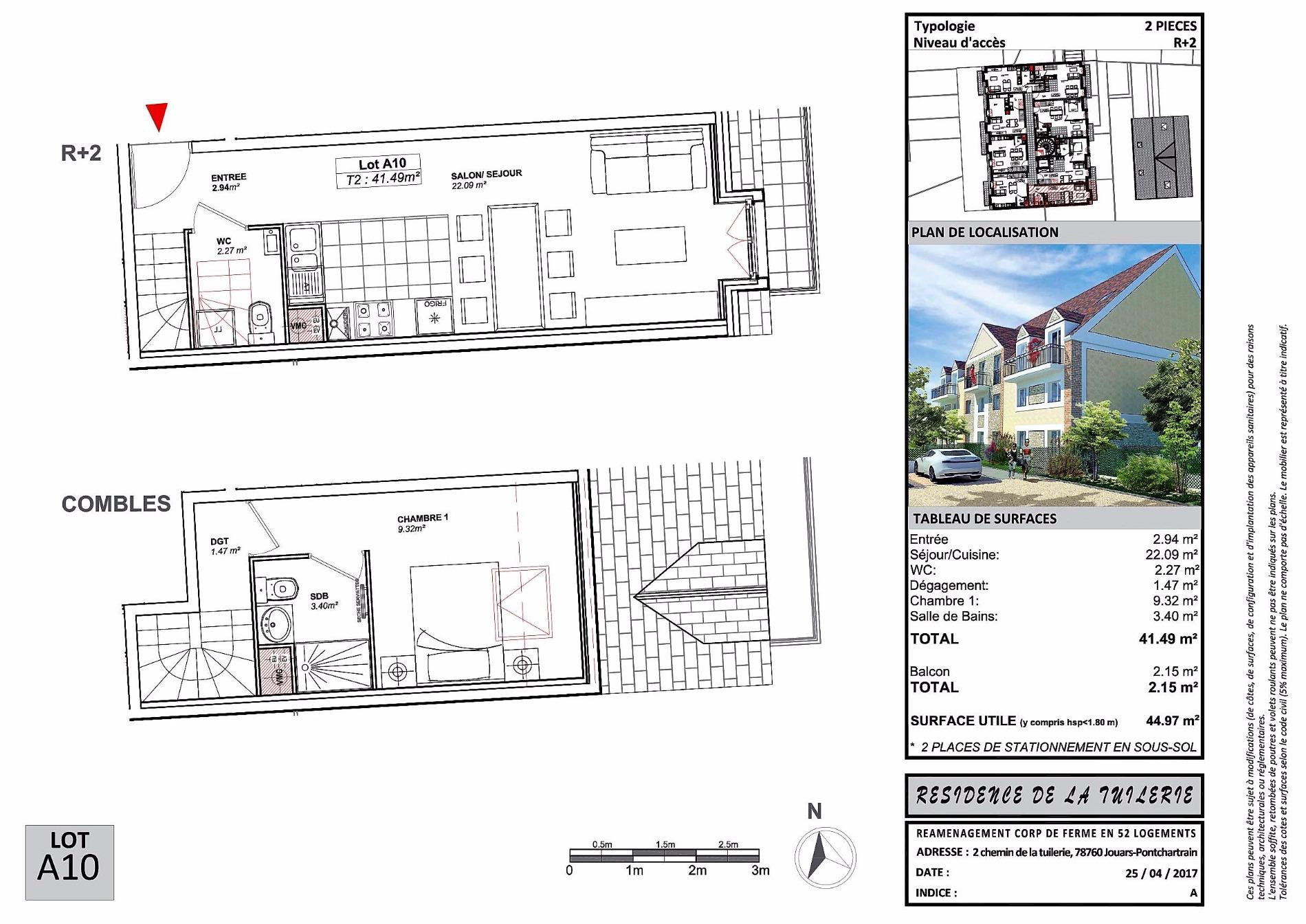 Offres programmes neufs duplex 2 pi ces for Agence immobiliere jouars pontchartrain